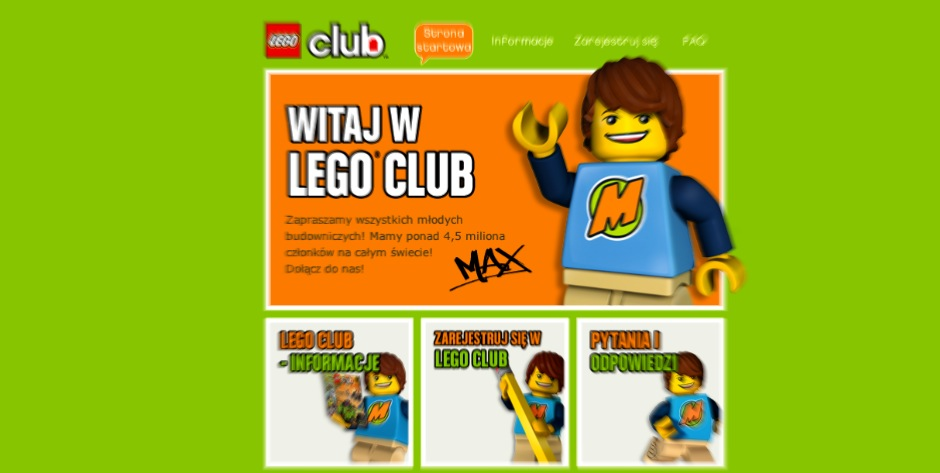 CodeRelations - LEGO Club Member handling